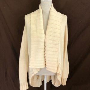 St. John Open Front Cardigan Sweater M/L Oversized